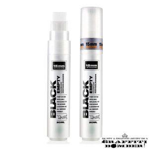 Montana Black Empty Marker 15mm Standard EAN4048500187360