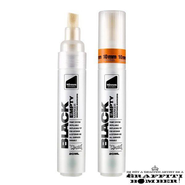 Montana Black Empty Marker 10mm Chisel EAN4048500312946