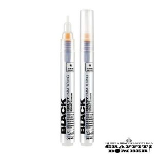 Montana Black Empty Marker 2mm Round EAN4048500313172