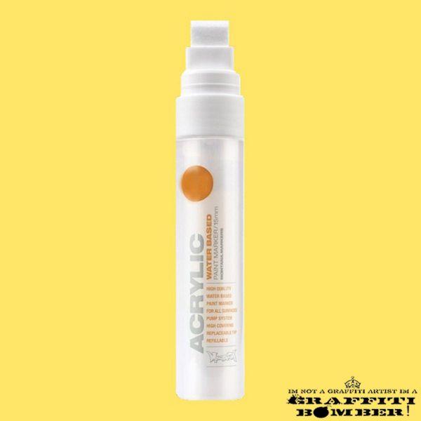 Montana Acrylic Marker 15mm S1000 Yellow Light EAN4048500323126