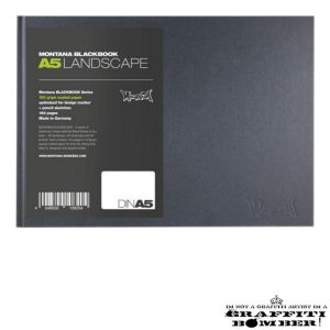 Blackbook Landscape A5 108204
