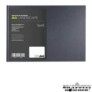 Blackbook Landscape A4 108211
