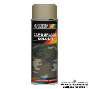 MOTIP Camouflagelak Legergrijs 04204