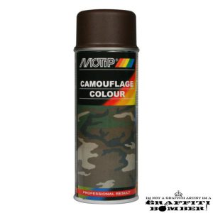 MOTIP Camouflagelak Ral 8027 Bruin 04205