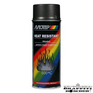 MOTIP 4030 HITTEBESTENDIGE LAK 800°C 400ML DONKER-ANTRACIET 04030