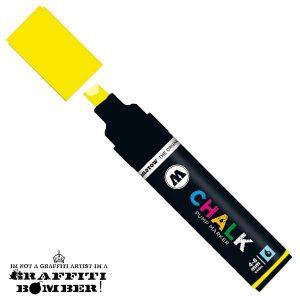Molotow Chalk/krijt marker geel TI50900404