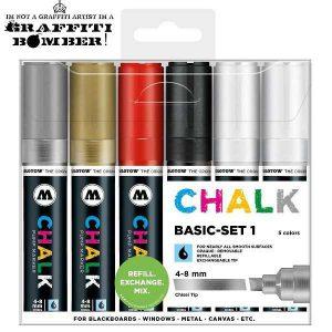 Molotow Chalk/krijt markers set basis TI50903201