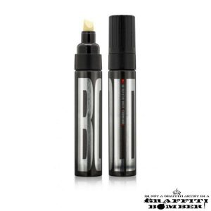 BOLD Ultra Black Ink Marker Montana CHISEL TIP 10mm Black EAN4048500468322