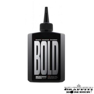 BOLD ULTRA BLACK INK MONTANA REFILL 200ML BLACK EAN4048500468346