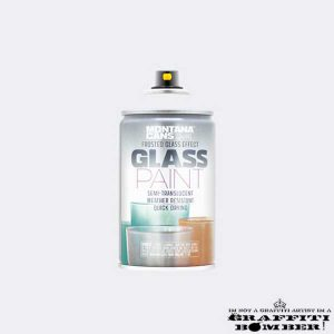 Montana Glass Paint 9100 White EAN4048500483127