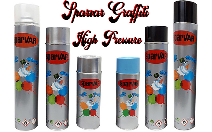 Sparvar Graffiti Art HIGH PRESSURE