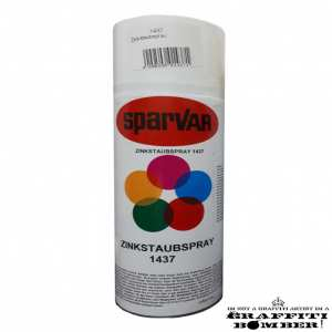 201437 SPARVAR ZINKSTOFSPRAY DONKER GRIJS 400 ml