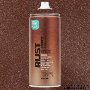 MONTANA RUST EFFECT 400ML ER8100 BROWN
