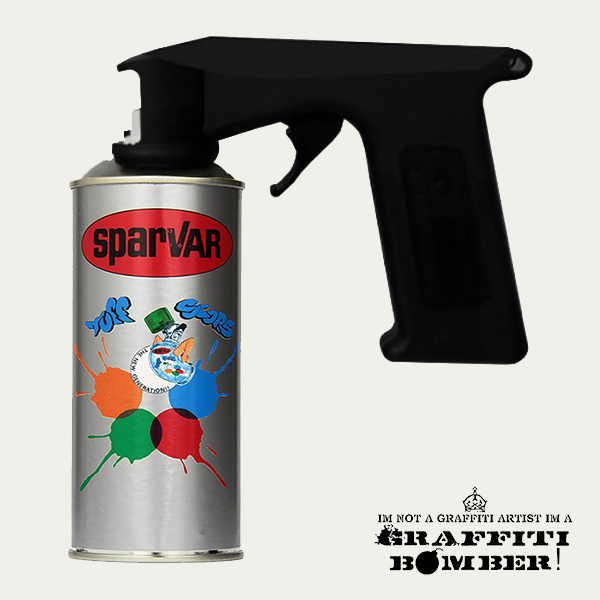 SPARVAR GRAFFITI-ART HIGH PRESSURE 28wit1 HP Bomber.nl